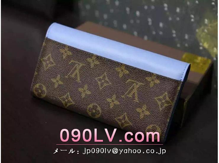 2015年新作ルイヴィトン 二つ折財布 コピー ポルトフォイユ・サラ 二つ折財布 M60790