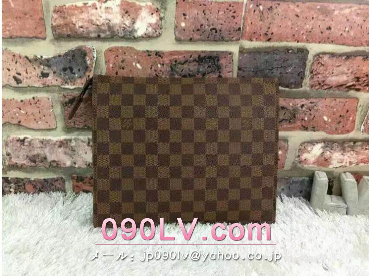 LOUIS VUITTON クラッチバッグ ダミエセカンドバッグ N47542 100周年記念限定品