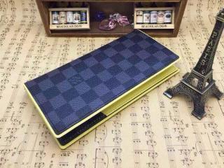 N63252ルイヴィトン財布ポルトフォイユ・ブラザ二つ折財布