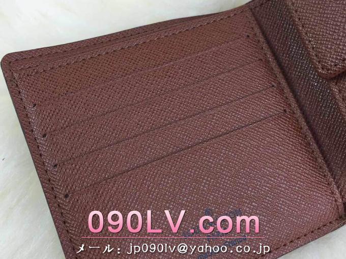 ルイヴィトン財布 コピー M61675 ポルトフォイユ・マルコ モノグラム 財布&小物