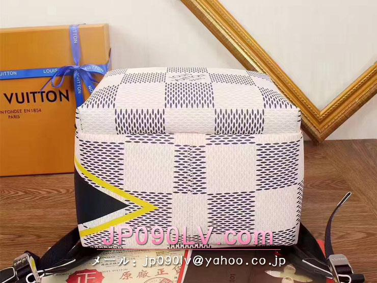 N44017 ルイヴィトンバッグスーパーコピー 2017年アメリカズカップ・コレクション アポロ・バックパック ダミエ・コーストライン