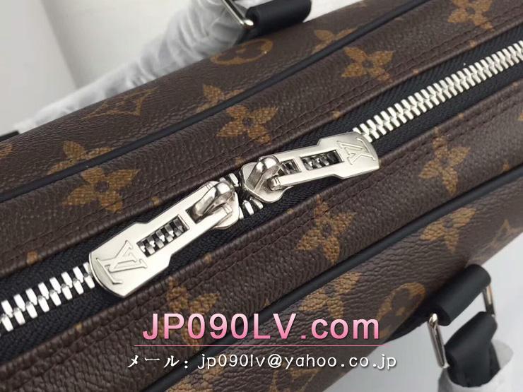 M52005 ルイ・ヴィトンコピー メンズバッグ LOUIS VUITTON「「PDV PM」 モノグラム・マカサー ビジネスバッグ