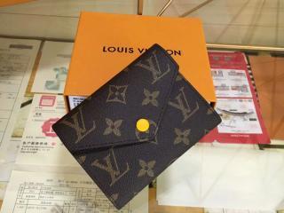 ルイ・ヴィトン モノグラム 財布 コピー ポルトフォイユ・ヴィクトリーヌ モノグラム 「LOUIS VUITTON」 M41938B きいろ - 財布&小物