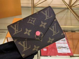 ルイ・ヴィトン モノグラム 財布 コピー ポルトフォイユ・ヴィクトリーヌ モノグラム 「LOUIS VUITTON」 M41938C - 財布&小物