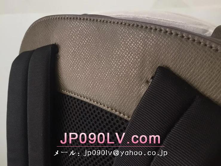 ルイヴィトン コピー タイガ バッグ  LOUIS VUITTON「Taiga」アントン・バックパック リュックサック シルバー金具 M34407 ステップ・アルドワーズ