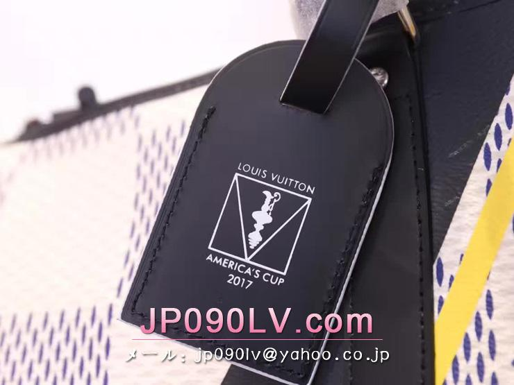 ルイヴィトン ダミエ バッグ コピー N44018 LOUIS VUITTON キーポル・バンドリエール 45 ダミエ・コーストライン