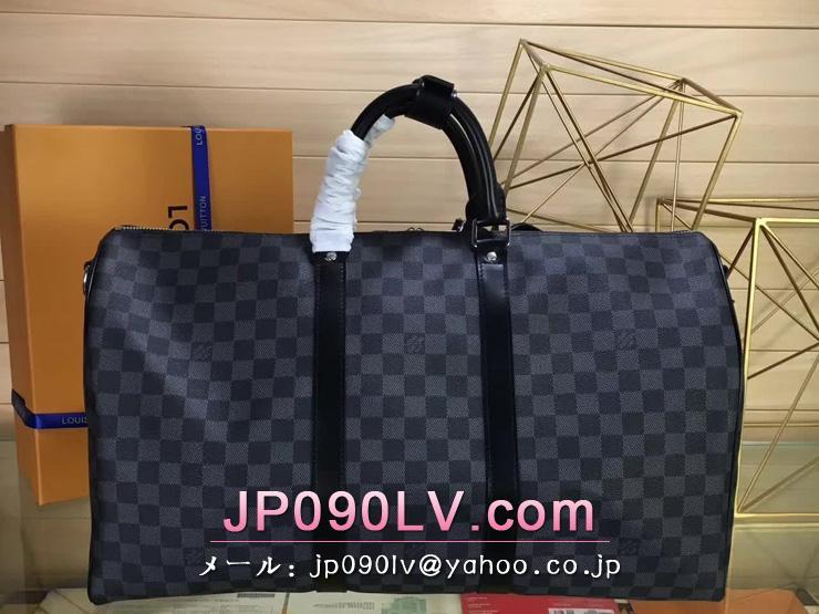 ルイヴィトン ダミエ・グラフィット バッグ コピー N41416 キーポル・バンドリエール 50 ダミエ・グラフィット トラベル旅行用バッグ