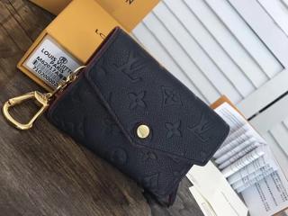 ルイヴィトン モノグラム・アンプラント 財布 スーパーコピー M62017 小銭入れ 「LOUIS VUITTON」 ポシェット・クレ ヴィトン 財布 レディース 二つ折り マリーヌルージュ