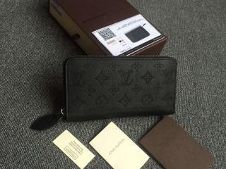 ルイヴィトン マヒナ 財布 スーパーコピー 「LOUIS VUITTON」 ジッピー・ウォレット ヴィトン レディース 人気 長財布 M61867 ノワール