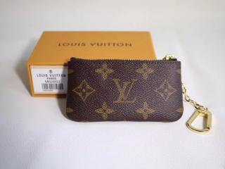 ルイヴィトン モノグラム 財布 スーパーコピー M62650 「LOUIS VUITTON」 ポシェット・クレ 小銭入れ兼用キーケース ゴールド金具