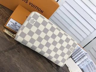 LOUIS VUITTON N41660 ルイヴィトン ダミエ・アズール 長財布 スーパーコピー ジッピー・ウォレット ヴィトン レディース 人気 ラウンドファスナー財布