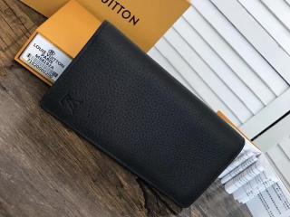 ルイヴィトン トリヨン 長財布 コピー M58192 「LOUIS VUITTON」 ポルトフォイユ・ブラザ トリヨン ヴィトン メンズ 二つ折り財布 ノワール