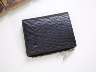 ルイヴィトン エピ 財布 スーパーコピー M64007 「LOUIS VUITTON」 ポルトフォイユ・スマート 小銭入れ ヴィトン メンズ 二つ折り財布 2色可選択 ノワール