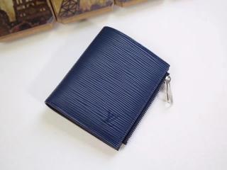 ルイヴィトン エピ 財布 コピー M64008 「LOUIS VUITTON」 ポルトフォイユ・スマート 小銭入れ ヴィトン メンズ 二つ折り財布 2色可選択 ブルーマリーヌ