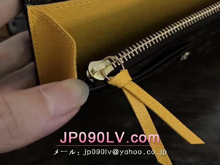 M61535 ヴィトン ルイモノグラム 長財布 コピー 「LOUIS VUITTON」ポルトフォイユ・エミリー ヴィトン レディース 二つ折り財布 7色 ジョンキーユ