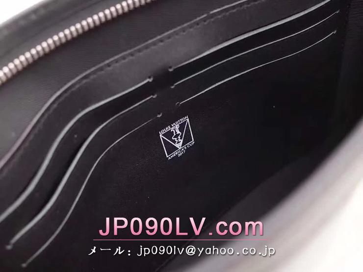 ルイヴィトン ダミエ・コーストライント バッグ コピー N60049 「LOUIS VUITTON」 ポシェット・ヴォワヤージュ MM ヴィトン メンズ クラッチ&セカンドバッグ