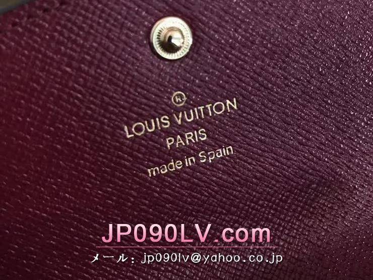 ルイヴィトン モノグラム 財布 スーパーコピー M41939 「LOUIS VUITTON」 ポルトモネ・ロザリ ヴィトン レディース 二つ折り財布 2色可選択 フューシャ