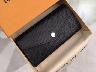 ルイヴィトン エピ キーケース スーパーコピー M56245 「LOUIS VUITTON」 ミニ財布 小銭入れ ヴィトン レディース 二つ折り財布&キーケース 選べる3色 ノワール