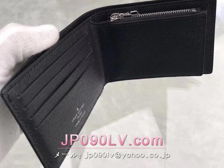 ルイヴィトン タイガ 財布 スーパーコピー M42100 「LOUIS VUITTON」 ポルトフォイユ・アメリゴ ヴィトン メンズ 二つ折り財布 2色可選択 オセアン