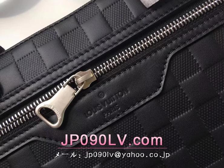ルイヴィトン ダミエ・アンフィニ バッグ スーパーコピー N41019 「LOUIS VUITTON」 アヴェニュー・ブリーフケース ヴィトン メンズ ビジネスバッグ 3色可選択 オニキス