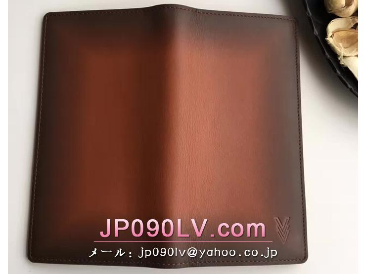 ルイヴィトン オンブレ 長財布 スーパーコピー M61195 「LOUIS VUITTON」 ポルトフォイユ・ブラザ ヴィトン メンズ 二つ折り財布 3色可選択 アカジュー