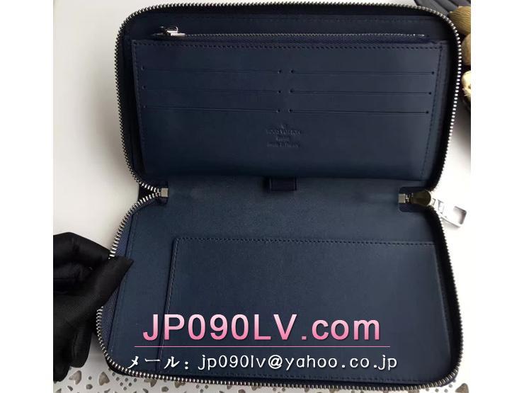 ルイヴィトン オンブレ 長財布 コピー M61686 「LOUIS VUITTON」 ジッピー・オーガナイザー ヴィトン メンズ ラウンドファスナー財布 3色可選択 アンクレ