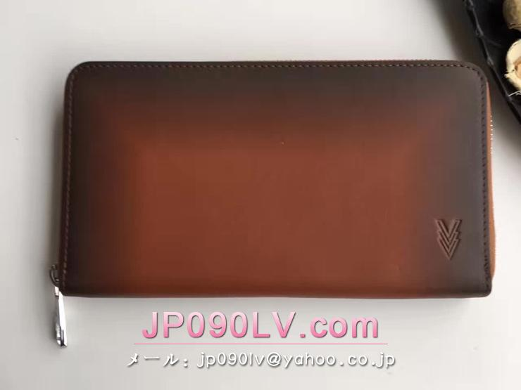 ルイヴィトン オンブレ 長財布 スーパーコピー M61687 「LOUIS VUITTON」 ジッピー・オーガナイザー ヴィトン メンズ ラウンドファスナー財布 3色可選択 アカジュー