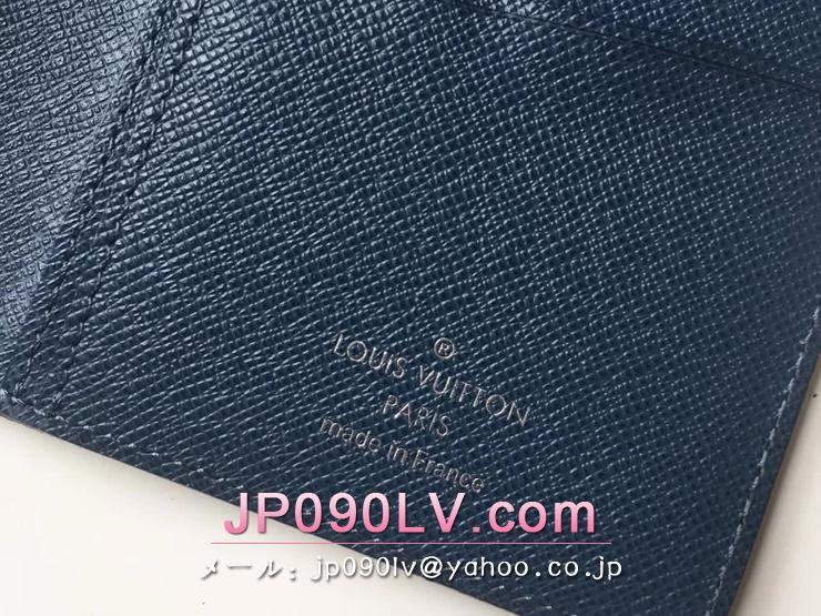 ルイヴィトン タイガ 長財布 スーパーコピー M33404 「LOUIS VUITTON」 ポルトフォイユ・ロン ヴィトン メンズ 二つ折り財布 オセアン