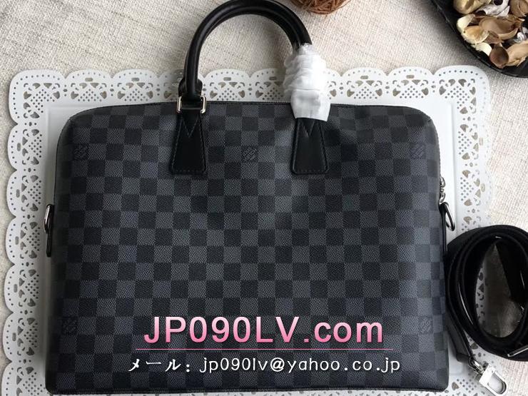 N48224 ルイヴィトン ダミエ・グラフィット バッグ コピー 「LOUIS VUITTON」 PDJ ポルトドキュマン・ジュール ヴィトン メンズ ビジネスバッグ 3色可選択