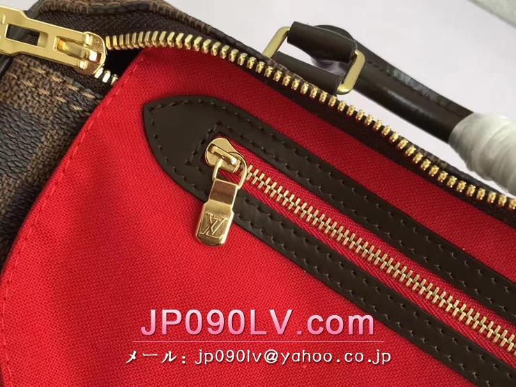 ルイヴィトン ダミエ・エベヌ バッグ コピー N41368 「LOUIS VUITTON」 スピーディ・バンドリエール 25 ハンドバッグ ヴィトン レディース ショルダーバッグ 2WAY