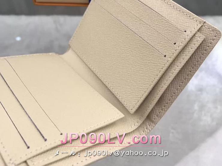 ルイヴィトン ダミエ・アズール 財布 コピー N63241 「LOUIS VUITTON」 ポルトフォイユ・アナイス 小銭入付財布 ヴィトン 三つ折り財布