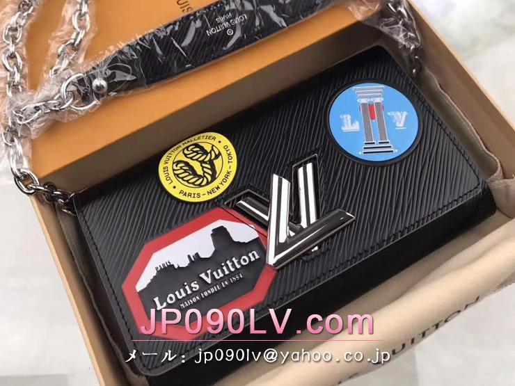 ルイヴィトン エピ 長財布 コピー M62007 「LOUIS VUITTON」 ポルトフォイユ・ツイスト ヴィトン レディース チェーンショルダー 二つ折り財布