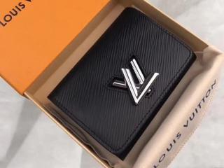 ルイヴィトン エピ 財布 スーパーコピー M64414 「LOUIS VUITTON」 ポルトフォイユ・ツイスト コンパクト ヴィトン レディース 三つ折り財布 4色可選択 ノワール