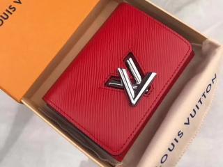 ルイヴィトン エピ 財布 コピー M64413 「LOUIS VUITTON」 ポルトフォイユ・ツイスト コンパクト ヴィトン レディース 三つ折り財布 4色可選択 コクリコ