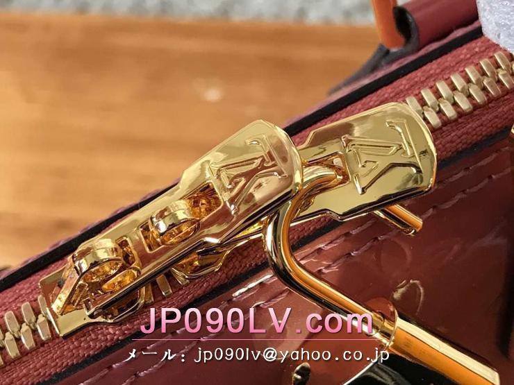 ルイヴィトン モノグラム・ヴェルニ バッグ スーパーコピー M94769 「LOUIS VUITTON」 アルマ BB ハンドバッグ ヴィトン レディース ショルダーバッグ 4色可選択 ヴィユーローズ