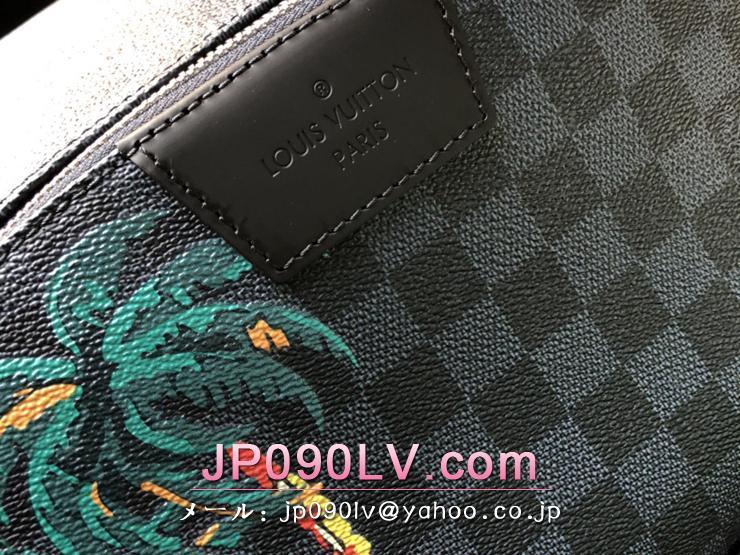 ルイヴィトン ダミエ・コバルト バッグ コピー N50003 「LOUIS VUITTON」 アポロ・バックパック ヴィトン メンズ バックパック カジュアル