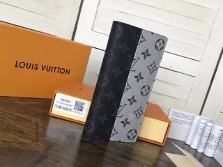 ルイヴィトン モノグラム 財布 スーパーコピー M63027 「LOUIS VUITTON」 ポルトフォイユ・ブラザ ヴィトン メンズ 二つ折り長財布