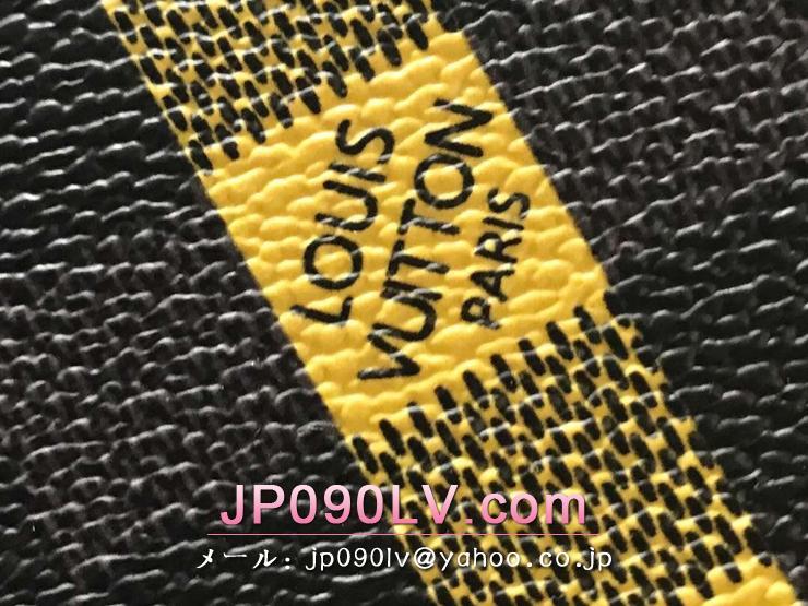 ルイヴィトン ダミエ・グラフィット バッグ スーパーコピー N60107 「LOUIS VUITTON」 ポシェット・ヴォワヤージュ MM ヴィトン メンズ クラッチバッグ 2色可選択 ネオン