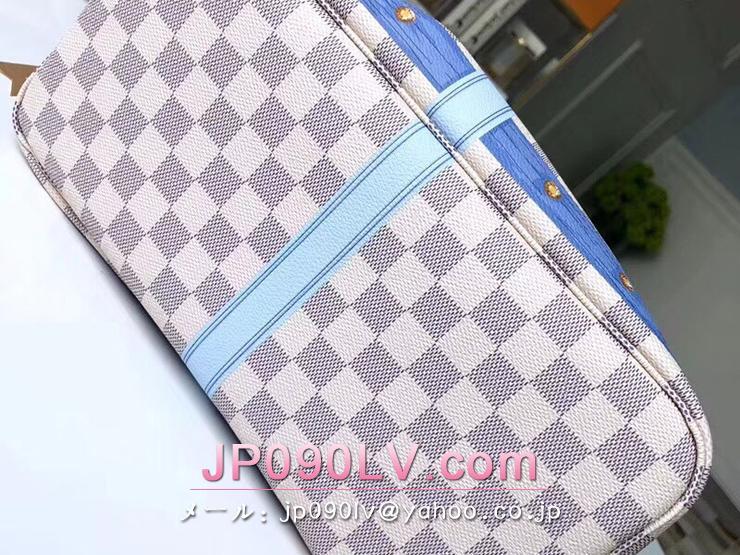 ルイヴィトン ダミエ・アズール バッグ スーパーコピー N41065 「LOUIS VUITTON」 ネヴァーフル MM トートバッグ ヴィトン レディース ショルダーバッグ