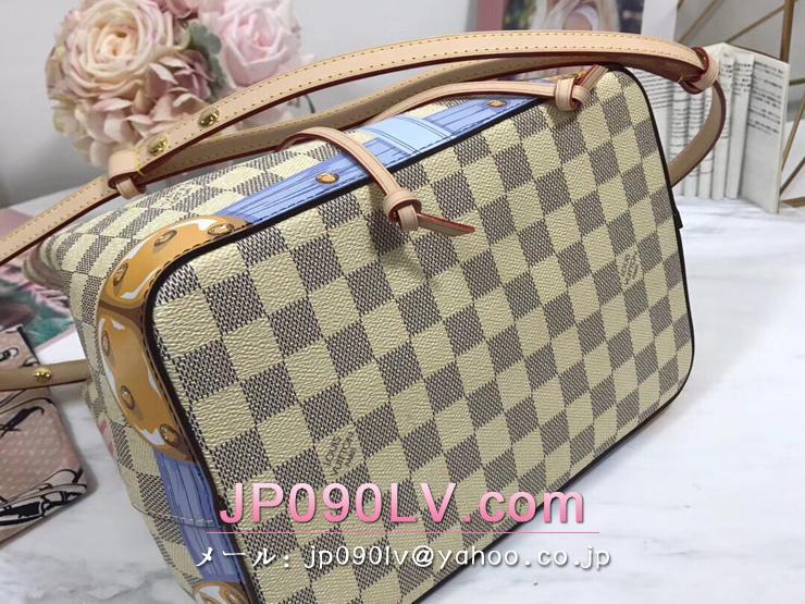 ルイヴィトン ダミエ・アズール バッグ コピー N41066 「LOUIS VUITTON」 ネオノエ ヴィトン レディース ショルダーバッグ