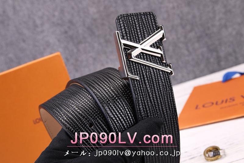 エピ ルイヴィトンベルトサンチュール・LVイニシアルコピー M9229U サンチュール・LVイニシアル 40MM シルバー金具 メンズ用 ベルト