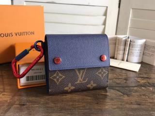 ルイヴィトン モノグラム 財布 コピー M63041 「LOUIS VUITTON」 コンパクト・ウォレット ヴィトン メンズ 二つ折り財布