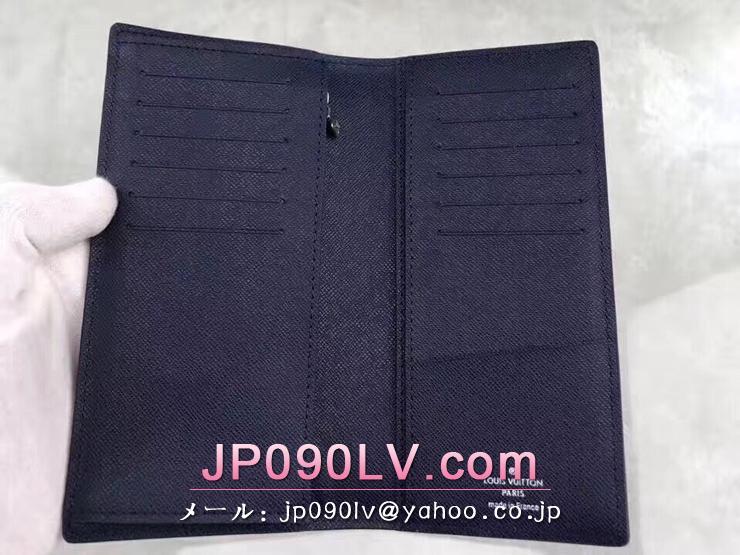ルイヴィトン エピ 長財布 スーパーコピー M61816 「LOUIS VUITTON」 ポルトフォイユ・ブラザ ヴィトン メンズ 二つ折り財布 ブルーマリーヌ