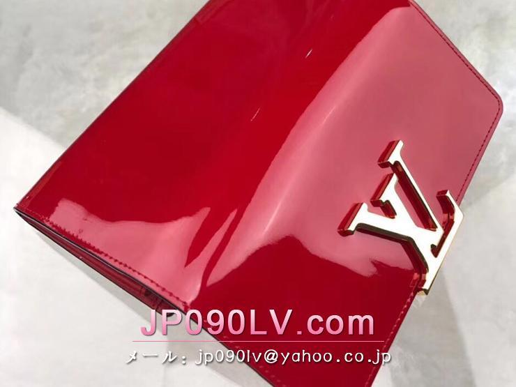 ルイヴィトン パテント 長財布 コピー M64550 「LOUIS VUITTON」 ポルトフォイユ・ルイーズ ヴィトン レディース 二つ折り財布 2色選択可 ルージュ