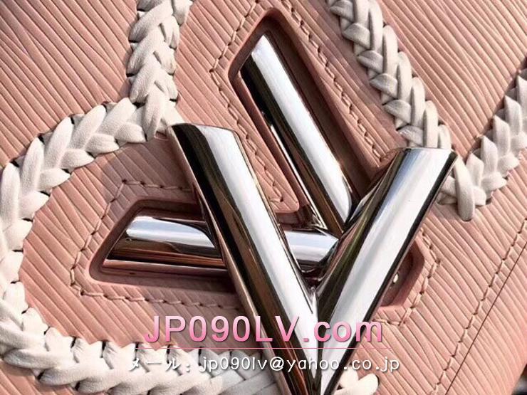 ルイヴィトン エピ バッグ スーパーコピー M53126 「LOUIS VUITTON」ツイスト MM ヴィトン レディース ショルダーバッグ 2色選択可 ピンク
