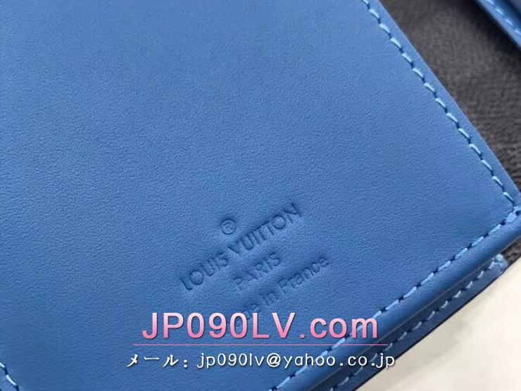 ルイヴィトン ダミエ・グラフィット 長財布 コピー N60088 「LOUIS VUITTON」 ポルトフォイユ・ブラザ ヴィトン メンズ 二つ折り財布 ネオン