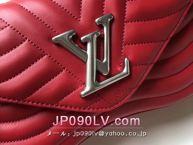 ルイヴィトン バッグ スーパーコピー M51943 「LOUIS VUITTON」 チェーンバッグ MM ヴィトン レディース ショルダーバッグ ニューウェーブ・レザー 2色可選択 レッド