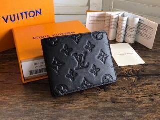 ルイヴィトン モノグラム・シャドウ 財布 スーパーコピー M62901 「LOUIS VUITTON」 ポルトフォイユ・ミュルティプル ヴィトン メンズ 二つ折り財布