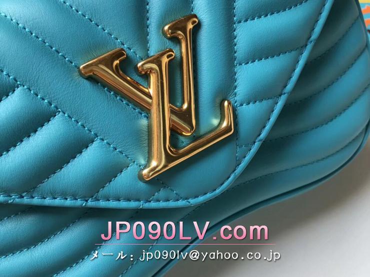 ルイヴィトン バッグ スーパーコピー M51936 「LOUIS VUITTON」 チェーンバッグ PM ヴィトン レディース ショルダーバッグ ニューウェーブ・レザー 4色可選択 ターコイズ