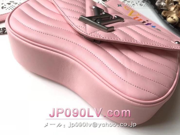 ルイヴィトン バッグ コピー M51944 「LOUIS VUITTON」 チェーンバッグ MM ヴィトン レディース ショルダーバッグ ニューウェーブ・レザー 4色可選択 ピンク